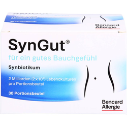 SYNGUT Synbiotikum m.Probiotika u.Prebiot.Beutel 30 St.