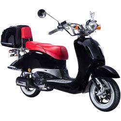 GT UNION Motorroller Strada, 125 ccm, 80 km/h, Euro 4, inkl. Topcase
