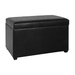 HAKU Möbel HAKU Möbel Sitztruhe schwarz