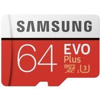 Samsung microSDXC EVO Plus 64GB Class 10 100MB/s UHS-I + SD-Adapter