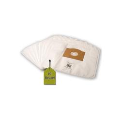 eVendix Staubsaugerbeutel 10 Staubsaugerbeutel Staubbeutel passend für Staubsauger Vetrella Midimax 1100, passend für Vetrella