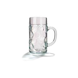Stölzle Bierkrug ISAR Maßkrug Bierkrug 1,0 Liter, Glas