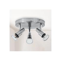 B.K.Licht LED Deckenspot Aurel, LED Deckenstrahler Badlampe IP44 Badezimmer Deckenleuchte Lampe GU10