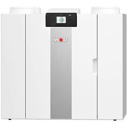 WOLF Comfort-Wohnungs-Lüftung CWL-2-400 - mit Wärmerückgewinnung (Typ wählen: 4/0 L)
