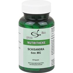SCHISANDRA 600 mg Kapseln 60 St.