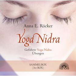 Yoga Nidra - Geführte Yoga Nidra-Übungen - Sammelbox als Hörbuch CD von Anna E. Röcker