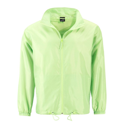 Herren Windbreaker | James & Nicholson bright-yellow XXL