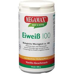 Megamax Eiweiß 100 Vanille 400 G Pulver