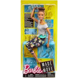 Mattel® Anziehpuppe Mattel FTG82 - Barbie - Puppe mit Gelenken - Made to Move