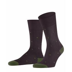 FALKE Socken Dot (1-Paar) mit hoher Farbbrillianz lila 39-42