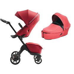 Stokke® Kombi Kinderwagen XPLORY X, Ruby Red rot