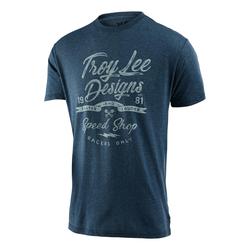 Troy Lee Designs T-Shirt Widow Maker Indigo meliert