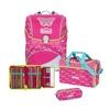 Scout Alpha 4-tlg. Pink Butterfly mit Sporttasche