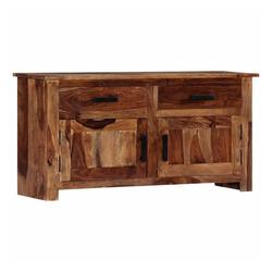 vidaXL Sideboard vidaXL Sideboard 100 x 30 x 50 cm Massivholz