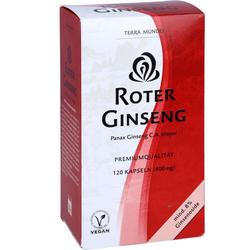ROTER GINSENG 400 mg 8% von Terra Mundo Kapseln 120 St.
