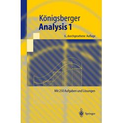 Analysis 1 als Buch von Konrad Königsberger