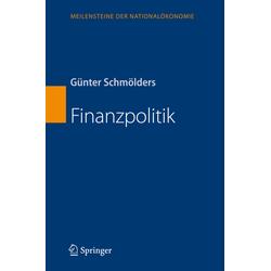 Finanzpolitik als Buch von Günter Schmölders