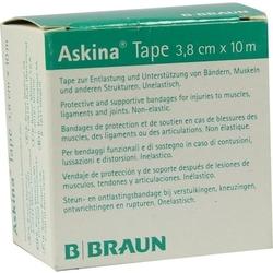 ASKINA Tape Pfl.unelast.3,8 cmx10 m grün 1 St.