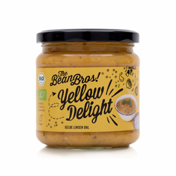 Yellow Delight BIO Daal 380g - The Bean Bros!
