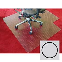 Bürostuhlunterlage für teppichböden - polypropylen, kreis, 1200 mm