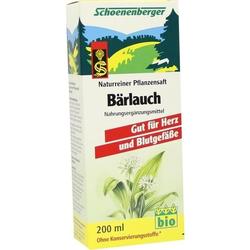 BAERLAUCHSAFT SCHOENENBERGER