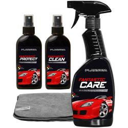 Platinum Auto-Reinigungsmittel Fantastic Results, (Set), inkl. Mikrofasertuch schwarz Reinigungsmittel Reinigungsgeräte Küche Ordnung