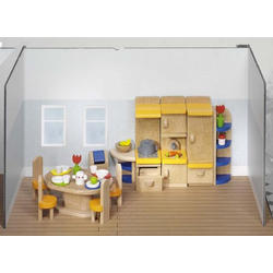Goki Puppenmöbel Küche, Holz