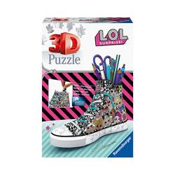 Ravensburger 3D-Puzzle 3D-Puzzle Sneaker - LOL, 108 Teile, Puzzleteile