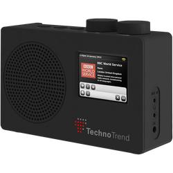 Technotrend P1 (FM, DAB+), Radio, Schwarz