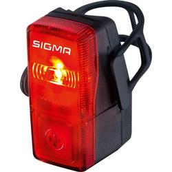 Sigma Fahrrad-Rücklicht CUBIC batteriebetrieben Rot, Schwarz