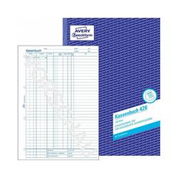 Kassenbuch A4 100 Blatt mit Blaupapier