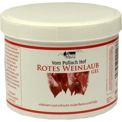 ROTES WEINLAUB Gel 500 ml