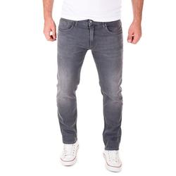 Yazubi Slim-fit-Jeans Akon Herren Jeans mit Stretch-Anteil grau 33