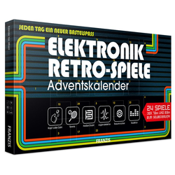 Elektronik Retro Spiele Adventskalender
