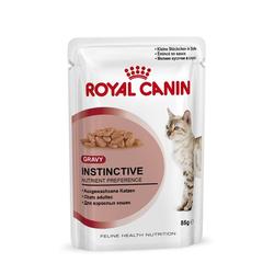 Royal Canin Frischebeutel Instinctive Sauce in Sosse Multipack 12x85g