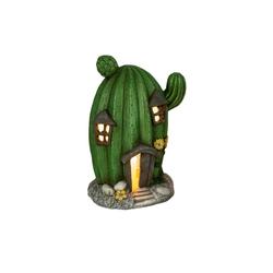 HTI-Living Windlicht Keramik-Windlicht Kaktus