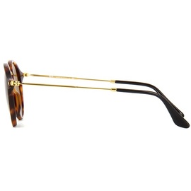 Ray Ban Round Fleck RB2447 1160 49-21 tortoise/gold/brown classic
