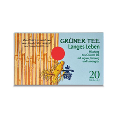 GRÜNER TEE+Ingwer+Ginseng Filterbeutel 20 St