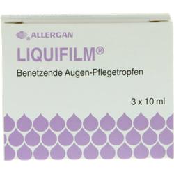 LIQUIFILM Benetzende Augen Pflegetropfen 3X10 ml