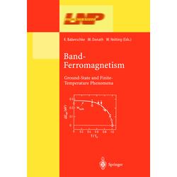 Band-Ferromagnetism als Buch von