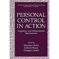 Personal Control in Action - Buch