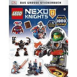 LEGO® NEXO KNIGHTS? Das große Stickerbuch