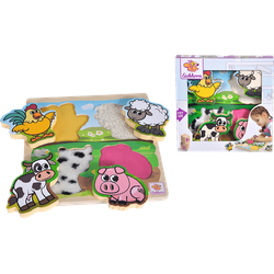 EICHHORN Fühl-Puzzle mit Stoff Kinderspielzeug Mehrfarbig