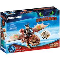 Playmobil Dragons Dragon Racing: Fischbein und Fleischklops 70729