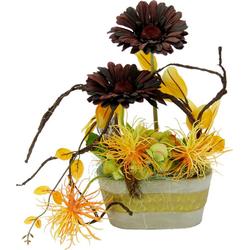 Kunstpflanze Gerbera, Höhe 30 cm