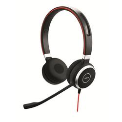 Jabra Professionelles VoIP-Softphone Stereo Headset Evolve 40 schwarz