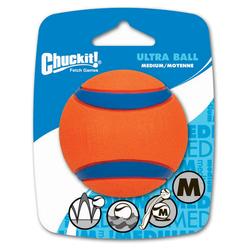 Chuckit! Ultra Ball 1er Pack, Größe: M (Tennisballgröße)