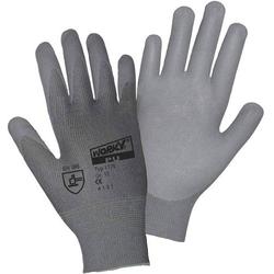 Worky L+D Nylon PU DMF-FREE 1175 Nylon Arbeitshandschuh Größe (Handschuhe): 7, S EN 388 CAT II 1 P