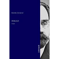 Altdeutsch. Conrad von Bolanden  - Buch
