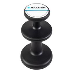 Halder Magnethalter schwarz 3688.002 Neodym Magnet Topfmagnet Haltekraft 2 Zonen